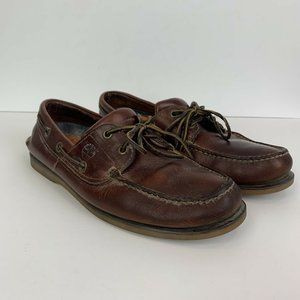 Timberland Slip On Leather Loafers